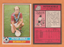 Burnley Peter Noble